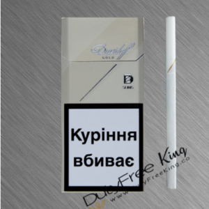 Davidoff Slim Gold Cigarettes order at Duty Free Price | Dutyfreeking.co
