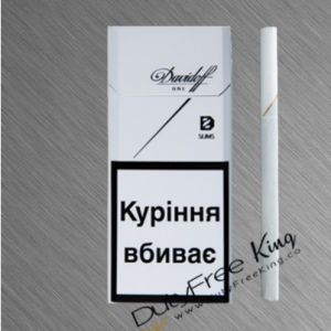 Davidoff Slim one Cigarettes order at Duty Free Price | Dutyfreeking.co