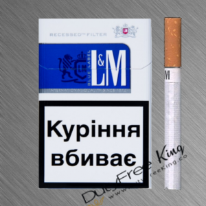 L&M Blue Cigarettes order at Duty Free Price | Dutyfreeking.co