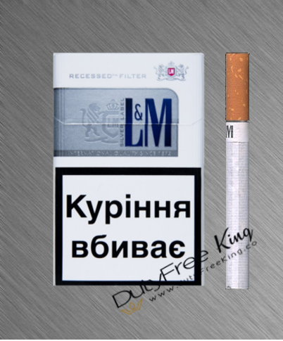 L&M silver Cigarettes order at Duty Free Price | Dutyfreeking.coDuty Free Price | Dutyfreeking.co