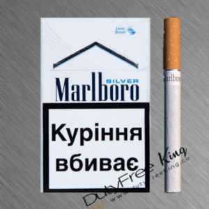 Marlboro Silver Cigarettes order online at Duty Free Price