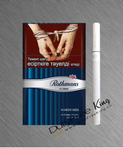 Rothmans Nanokings Silver Cigarettes