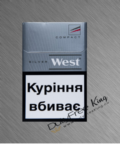 West Compact Silver Cigarettes order at Duty Free Price | Dutyfreeking.co