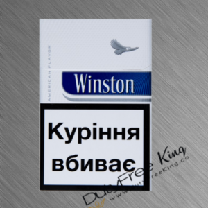 Winston Blue Cigarettes order at Duty Free Price | Dutyfreeking.co