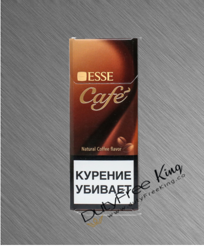 Esse Cafe slims Cigarettes order online at Duty Free Price