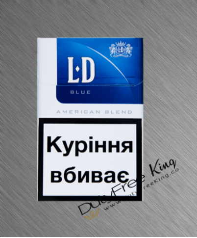 LD Blue Cigarettes order at Duty Free Price | Dutyfreeking.co