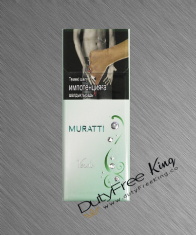 Muratti Verde slims Cigarettes order online at Duty Free Price