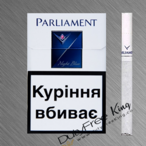 Parliament Night Blue Cigarettes order online at Duty Free Price