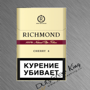 Richmond Cherry Cigarettes order online at Duty Free Price
