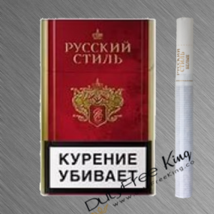 Russian Style Red Cigarettes РУССКИЙ СТИЛЬ order online