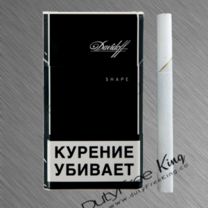 Buy Davidoff Shape Black Cigarettes at Duty Free Price | DutyFreeKing