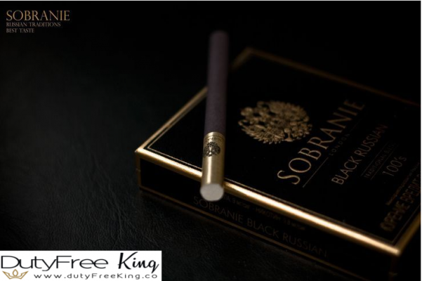 Sobranie Black Russian Cigarettes