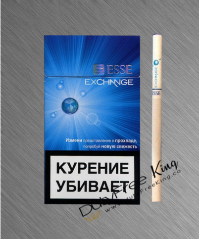 Esse Exchange Blue Cigarettes