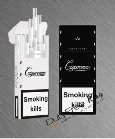 Cigaronne Black Super Slims