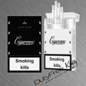 Cigaronne Black Ultra Slims