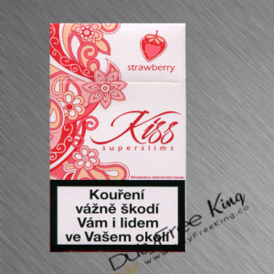 Kiss Strawberry Cigarettes