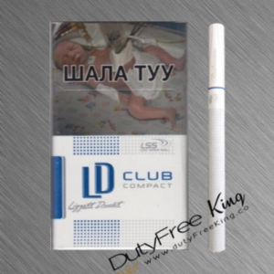 LD Club Compact Blue Cigarettes