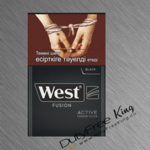 West Fusion Black Cigarettes