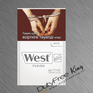 West Fusion White Cigarettes
