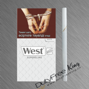 West White Super Slims Cigarettes