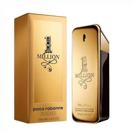 Paco Rabanne 1 Million Eau de Toilette men 100ml / 3.4 oz Tax Free DutyFreeKing.co