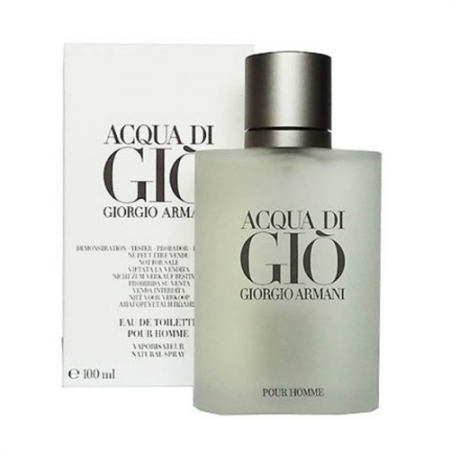 Giorgio Armani Acqua Di Gio Eau de Toilette men 100ml / 3.4 oz Tax Free DutyFreeKing.co