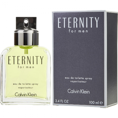 Calvin Klein Eternity Eau de Toilette 100ml | for him | DutyFreeKing.co
