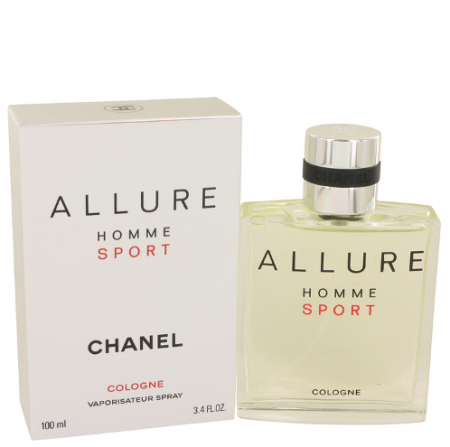 Chanel Allure Homme Sport Eau de Toilette men 100ml / 3.4 oz Tax Free DutyFreeKing.co