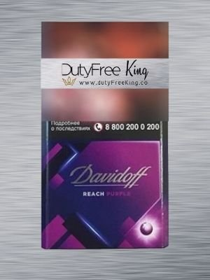 Buy Cigarettes online Davidoff reach Purble