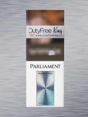 Parliament Reserve 100 Tax Free Cigarettes