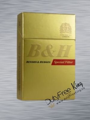 Benson and Hedges Gold Special Filter